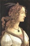 sandro botticelli portrait of a young woman iii painting-25240