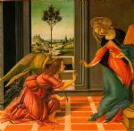 the cestello annunciation by sandro botticelli painting