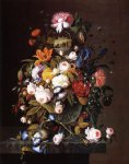 floral original paintings - floral still life with bird s nest by severin roesen