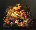 nature art - natures bounty by severin roesen