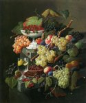 severin roesen acrylic paintings - still life ii by severin roesen
