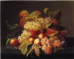 severin roesen acrylic paintings - still life of fruit ii by severin roesen