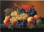 severin roesen still life of fruit on a marble tabletop painting 25140