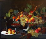 severin roesen acrylic paintings - still life of fruit by severin roesen