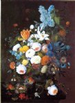 severin roesen acrylic paintings - still life with flowers iv by severin roesen