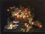 severin roesen still life with fruit and vase painting 25157