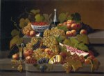 severin roesen still life with fruit xii painting 25171