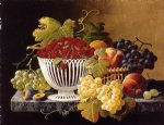 severin roesen still life with strawberry basket painting 25182