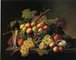 severin roesen still life painting 25184