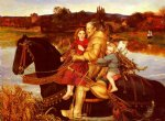 sir john everett millais a dream of the past prints