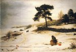 sir john everett millais original paintings - blow blow thou winter wind by sir john everett millais