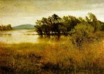 sir john everett millais original paintings - chill october by sir john everett millais