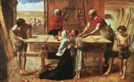 christ in the house of his parents by sir john everett millais acrylic paintings
