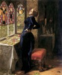 mariana ii by sir john everett millais painting