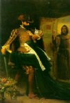 sir john everett millais acrylic paintings - saint bartholomew s day by sir john everett millais