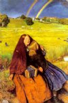 the blind girl by sir john everett millais painting