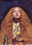 the bridesmaid by sir john everett millais painting