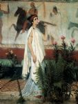 greek famous paintings - sir lawrence alma tadema a greek woman by sir lawrence alma-tadema