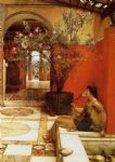 sir lawrence alma tadema an oleander painting