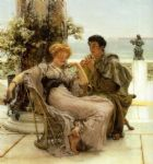 sir lawrence alma tadema courtship the proposal painting
