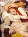 sir lawrence alma tadema exhausted maenides after the dance painting