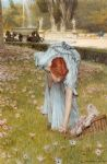 sir lawrence alma tadema flora painting