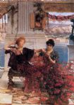 love famous paintings - sir lawrence alma tadema love s jewelled fetter by sir lawrence alma-tadema