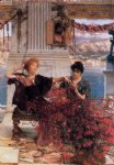 love art - love s jewelled fetter by sir lawrence alma tadema