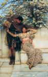 sir lawrence alma tadema promise of spring prints