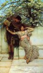 promise of spring by sir lawrence alma tadema painting