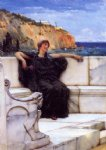 resting by sir lawrence alma tadema painting