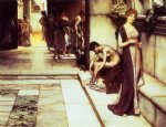 the apodyterium by sir lawrence alma tadema painting