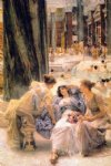 canvas prints - the baths of caracalla by sir lawrence alma tadema