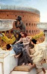 sir lawrence alma tadema famous paintings - the coliseum by sir lawrence alma tadema