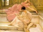 sir lawrence alma tadema the favourite poet painting