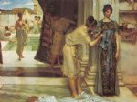 the frigidarium by sir lawrence alma tadema painting