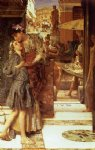 sir lawrence alma tadema the parting kiss painting