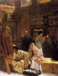 sir lawrence alma tadema the picture gallery painting