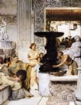 sir lawrence alma tadema famous paintings - the sculpture gallery by sir lawrence alma tadema