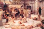 sir lawrence alma tadema the women of amphissa painting