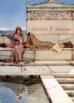 sir lawrence alma tadema xanthe and phaon oil paintings