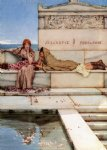 xanthe and phaon by sir lawrence alma tadema painting