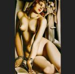 tamara de lempicka watercolor paintings - andromeda by tamara de lempicka