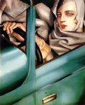 tamara de lempicka watercolor paintings - auto by tamara de lempicka