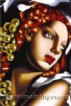 tamara de lempicka watercolor paintings - l eclat by tamara de lempicka