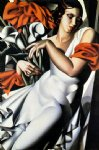 portrait of ira p by tamara de lempicka prints