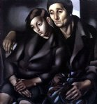 the refugees by tamara de lempicka painting