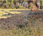 afternoon shadows by theodore robinson painting