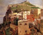 theodore robinson watercolor paintings - capri by theodore robinson