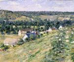 theodore robinson watercolor paintings - giverny by theodore robinson